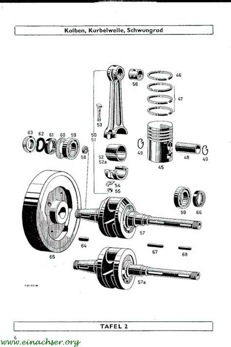 Sachs Motor 600 L by Sachs Diesel D 600 L Ersatzteilliste