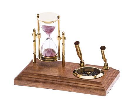 stiftehalter schreibtisch stiftehalter schreibtisch kompass sanduhr schiff maritim