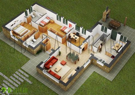 3d plans on floor plans apartment design and