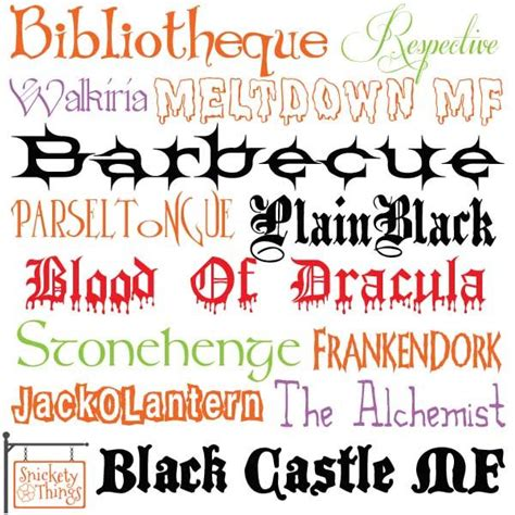printable scary fonts 1000 images about halloween fonts on pinterest free