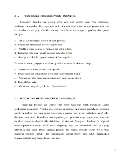 layout manajemen operasional bab i manajemen operasional