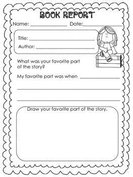 book report template grade 1 book report templates for kinder and graders book