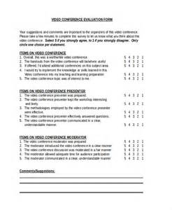 conference survey template sle conference evaluation form 10 free documents in