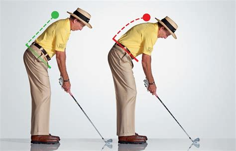 proper posture for golf swing perfect your posture golf digest