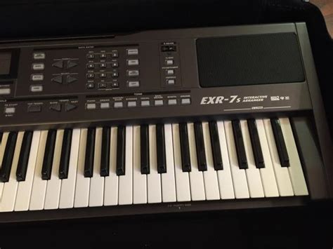 Keyboard Roland Exr 7 Roland Exr 7s 2011 Black Interactive Arranger Keyboard