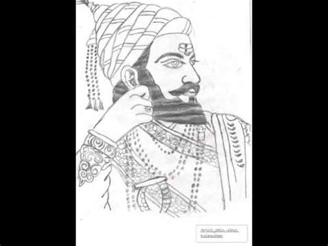shivaji maharaj sketch cliparts co
