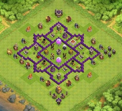 17 best images about clash of clans town layouts on clash of clans note and war