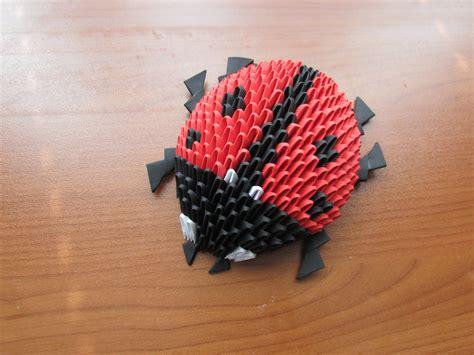 Origami 3d Tutorial - 3d origami bug tutorial