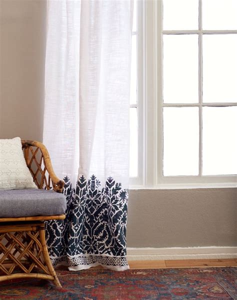 stenciled curtains 1000 ideas about stenciled curtains on pinterest drop