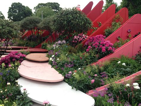 flower shoe chelsea flower show 2017 show gardens living colour
