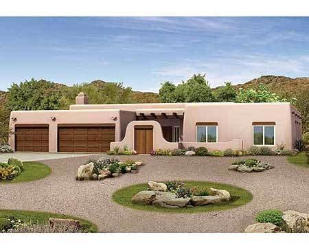 Pueblo Style House Plans by Pueblo Style Ranch Home Plan 81387w Architectural
