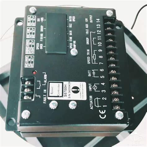 Speed Controller S6700h generator speed unit s6700h buy speed