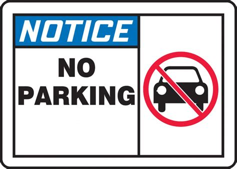 no parking signs template related keywords suggestions for no parking notice