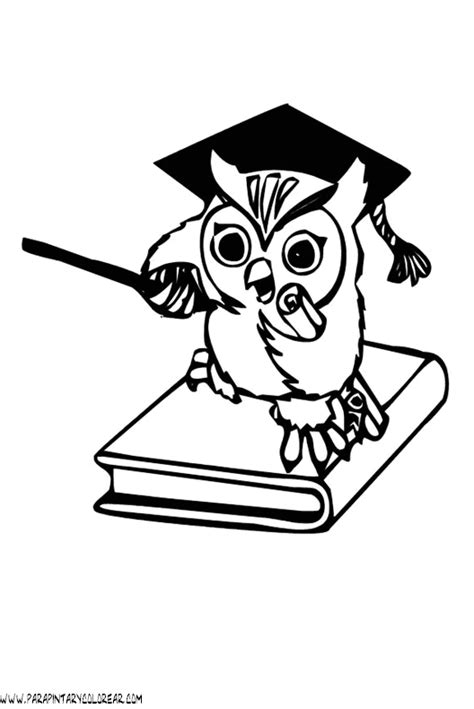 dibujos de buhos thermometer coloring page coloring pages