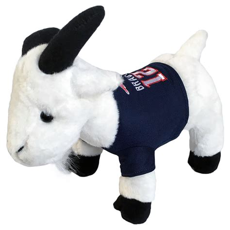brady  goat plush toy patriots proshop