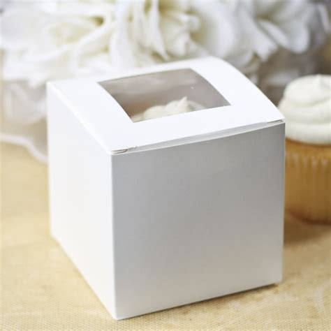 white cupcake boxes with window white window cupcake boxes baby shower tableware baby