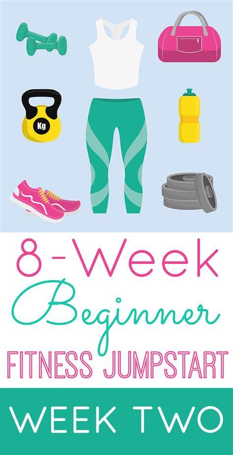 beginner fitness jumpstart week  happiness  homemade