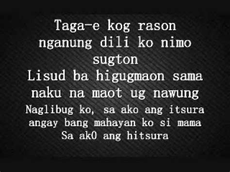 bisaya version lyrics just give me a reason bisaya version with lyrics