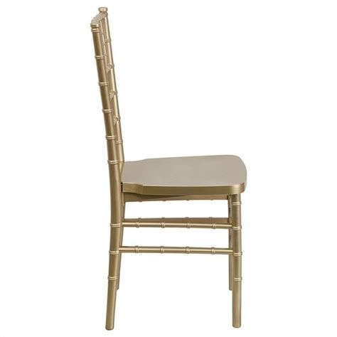 Resin Dining Chairs Gold Resin Stacking Chiavari Dining Chair Le Gold Gg