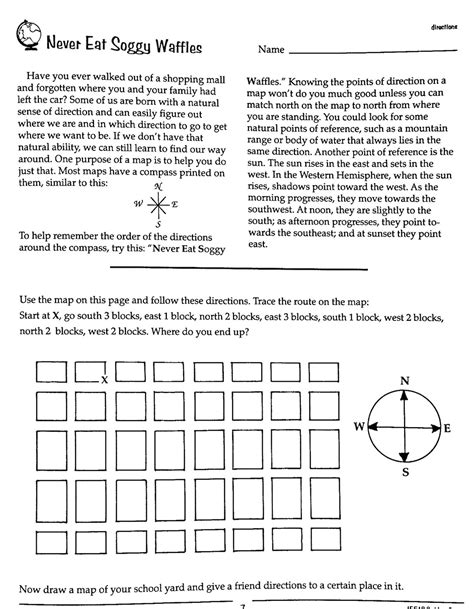 cardinal directions printable worksheets worksheet cardinal directions worksheet grass fedjp