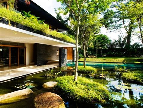 organic house green roofed cluny house showcases low energy luxury in
