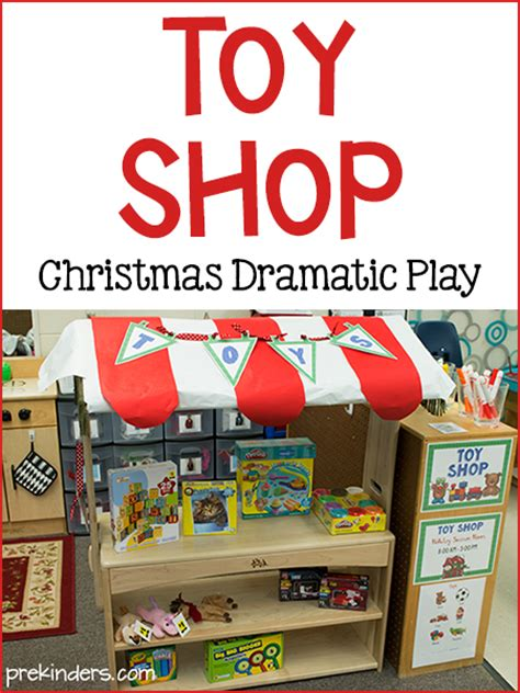 Play Store Toys Store Dramatic Play Prekinders