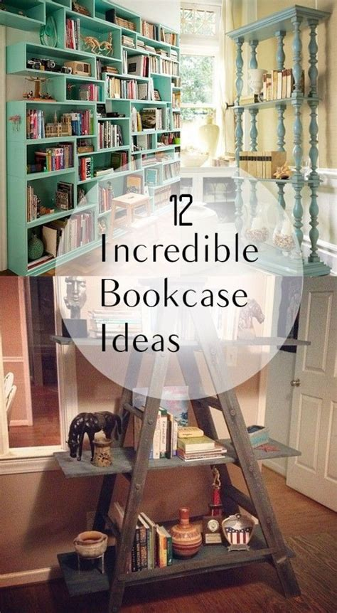 17 best ideas about diy bookcases on