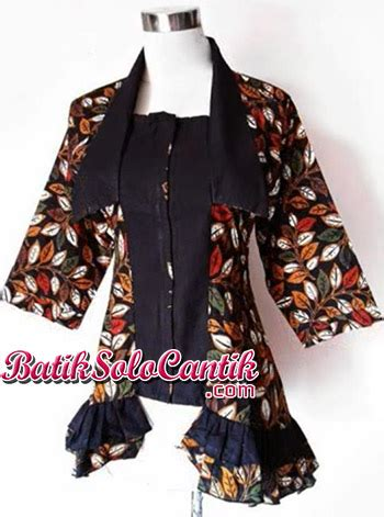 Rok And Blouse Katun Sogan by Blouse Batik Kerja Kamila Sogan A05 Baju Kerja Batik