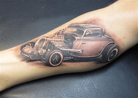 tattoo hot rod art hot rod by lalo yunda tattoonow