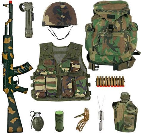 Set Kid Vina 2 In 1 Navy army platoon leaders play set woodland camouflage 119 99 http