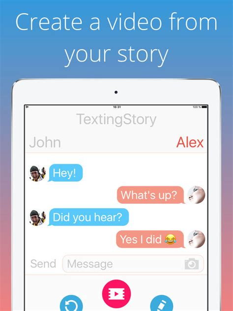 Create A by Textingstory Chat Story Maker On The App Store