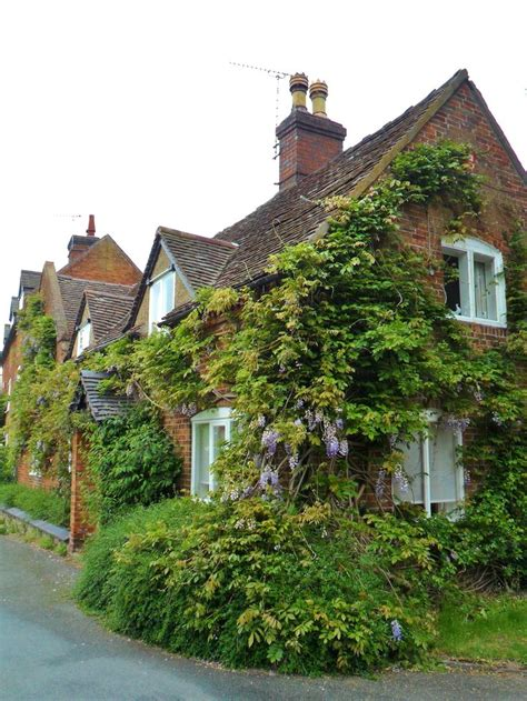 Cottages Staffordshire by Wisteria Covered Cottages Alrewas Staffordshire