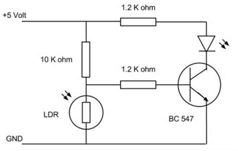 definition of light dependant resistor ldr circuit pcb chetanpatil