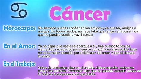 el signo de cancer hor 243 scopo del d 237 a c 225 ncer 06 01 2016 youtube