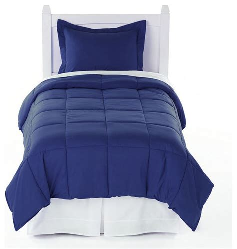 navy twin comforter navy blue twin xl comforter set by ivy union