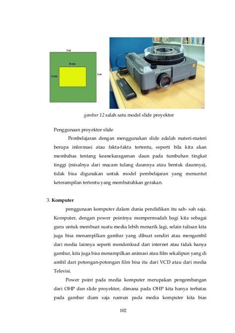Proyektor Slide Media Pembelajaran Biologi