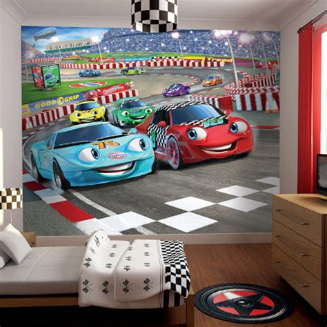 disney cars wall mural wall childrens bedroom wallpaper ideas home decor uk