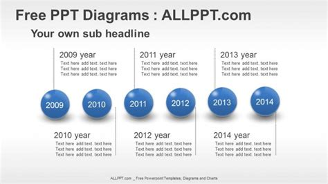 Spheres Timeline Ppt Diagrams Download Free Powerpoint Timeline Templates Free