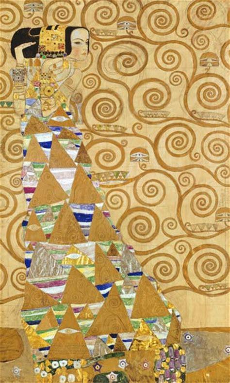 Klimt Der Kuss Interpretation by Die Erwartung Gustav Klimt Als Kunstdruck Oder