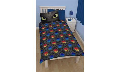 Scooby Doo Duvet Set How To Train Your Dragon Toothless Reversible Duvet Set