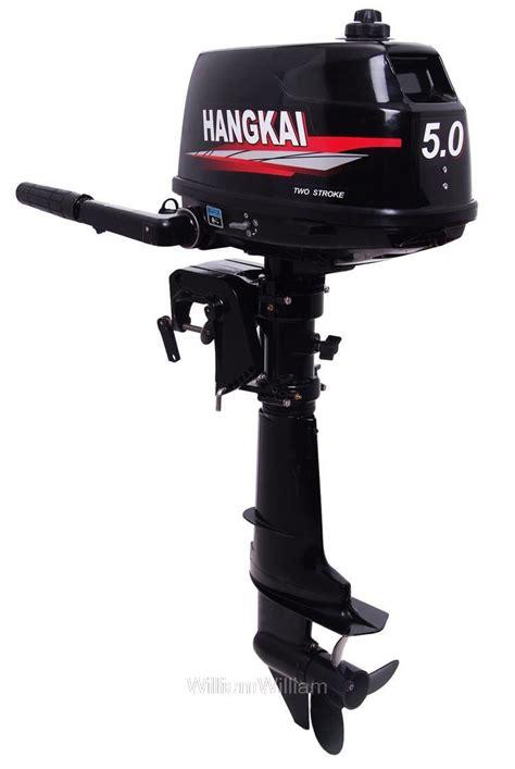 shipping boat motor free shipping hangkai 5 hp outboard 2 stroke boat motor
