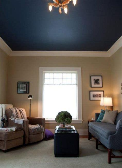 this blue ceiling diy ceiling color bedroom paint colors and color blue