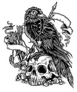 valhalla skull best tattoo ideas gallery