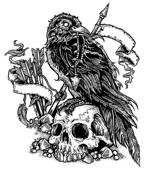 valhalla tattoo designs valhalla skull best ideas gallery
