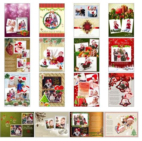 photo collage greeting card template giveaway make personalized cards using