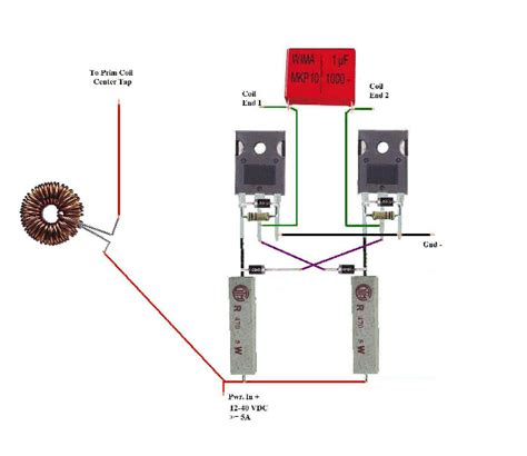 simple zvs induction heater zvs driver schematic zvs get free image about wiring diagram