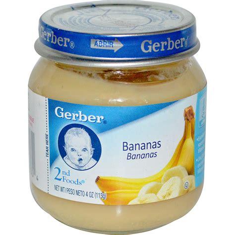 gerber cim gerber 2nd foods bananas 4 oz 113 g iherb