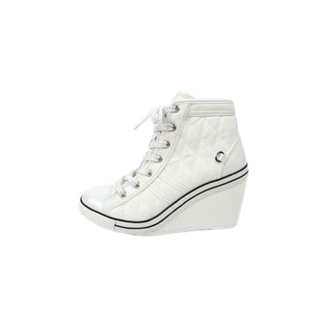 zipper sneakers womens womens lace up wedge sneakers high top zipper shoes white