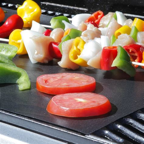 Easy Barbeque Grill Mat Kertas Pemanggang Bbq easy bbq grill mat bake nonstick grilling mats barbecue pad as seen on tv ebay