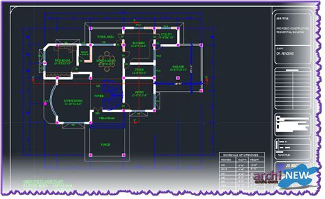 Free Apartment Plans Cad Files Autocad Dwg File To Home Villa 7 Archi New